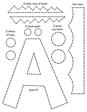 Alphabet printable craft pack for preschoolers my preschool plan we keep it simple while giving you maximum flexibility so you can color the templates yourself or print them out on colored paper spiritdancerdesigns Images
