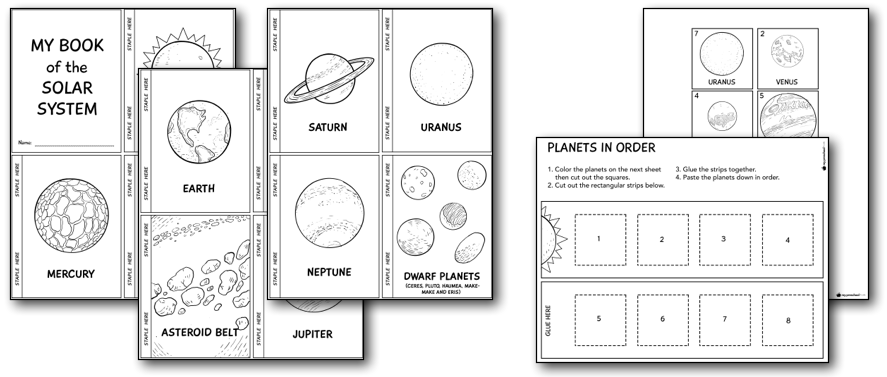 Solar System Printables and Lesson Pack for Preschoolers ...